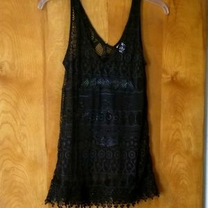 Black Lacey Coverup